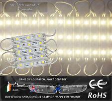 5x LED SMD Warm White Waterproof Light Lamp Module Strip Car Van Caravan 12VDC
