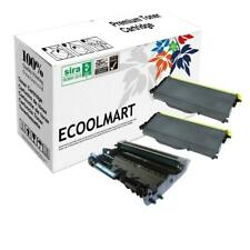 2 PK TN360 + 1 PK DR360 (Compatible Toner Drum Set) For Brother MFC-7440N, 7840W