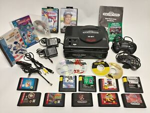 Sega CD Model 1, Genesis Console, Controllers, 18 Games Excellent Condition Lot