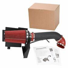 Wrinkle Black Cold Air Intake System Kit fit 99-06 GMC/Chevy V8 4.8L/5.3L/6.0L