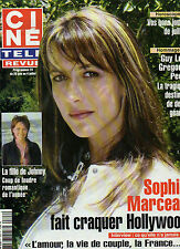 CINE REVUE 2003 N°26 s. marceau loretta young isabelle alonso laura smet guy lux
