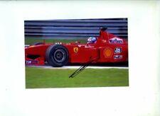 Mika Salo Ferrari F399 Italian Grand Prix 1999 Signed Photograph 3
