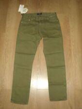 Pantaloni da uomo chino, kaki lungo