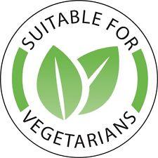 Vegetarian Labels Food Labels Food Preparation Stickers Rolls Of 1000 25mm (Ø)