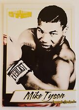Mike Tyson 2017 4LUVofBOXING Legends Series 1 Boxing Card Kid Dynamite