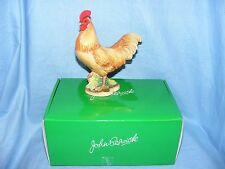 John Beswick Farmyard Series Buff Orpington Cockerel JBB13BO Figurine Ornament