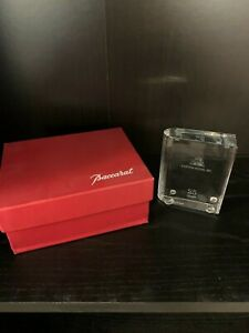 Baccarat Book Paperweight
