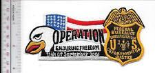 Federal Bureau of Investigation FBI Afghanistan Operation Enduring Freedom Servi