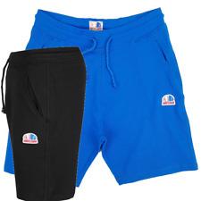 Pantaloni corti Pantaloncini Tuta Uomo con Tasche Felpati Sportivi Cotone M L XL