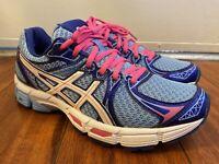 Asics Gel-Exalt 2 Women's Sneakers Blue Pink White Running Shoes T4B6N Size 7