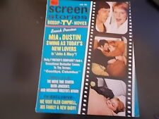 Patricia Neal, Elizabeth Taylor, Glen Campbell - Screen Stories Magazine 1969