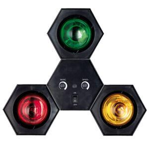 TIP 3767 Sound + Light Tower 3x40W E27 Lichtorgel Disco Party Lichteffekt DJ