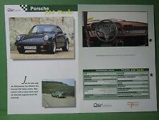 Porsche 930 turbo - Datenblatt Car-Collection vom delPrado Verlag