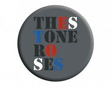 STONE ROSES logo - BUTTON BADGE official licensed merchandise