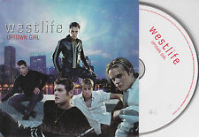 CD CARTONNE CARDSLEEVE 2T WESTLIFE UPTOWN GIRL (BILLY JOEL) 2001