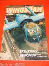 WINGSPAN #  7 - PIAGGIO P166 MINI PROFILE - JULY 1985