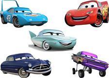 JOBLOT 5 DISNEYS CARS MINNIE/SMALL IRON ON T SHIRT TRANSFERS LIGHT/WHITE FABRICS