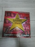 THE MOVIE BOARD GAME 9 GAMES 3 PLAY LEVELS FILM STARS NEW & SEALED FAMILY FUN