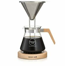 Osaka Pour-Over Coffee Dripper with Wood Stand - Full Brewing Set for a Homem...