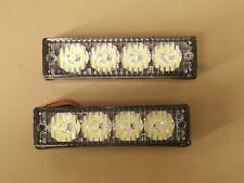 LOT of 2  LED Side Marker Vehicle Deck Dash Flash Strobe Emergency Grille Light