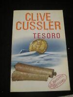 LIBRO: TESORO - CLIVE CUSSLER - LONGANESI 1992 Thriller