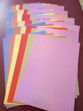 CREATE AND CRAFT PACK OF 36 A4 PLETHORA OF PATTERNS BRIGHTS CARDSTOCK