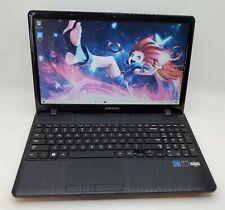 "15.6"" Samsung 355E Laptop AMD E2-1800 1.7GHz 6GB RAM 128GB SSD No Power Cord"