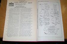 Hacer volteretas Primavera controlado Animales Juguetes patente. Hofstotter, Hampstead, Londres 1937