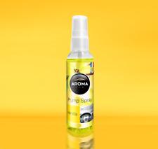 Parfum Voiture Aroma Car Pump Spray Vanille 75ml