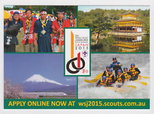 2015 World Scout Jamboree AUSTRALIA SCOUTS Contingent Recruitment Postcard