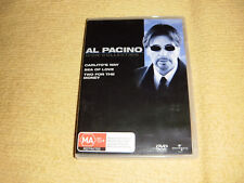 CARLITO'S WAY sea of love TWO FOR THE MONEY=3 DVD as NEW Al Pacino Collection R4