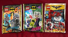 Lego Batman Especial-Batman, Joker, Harley Quinn Mini Lámina Packs X 3