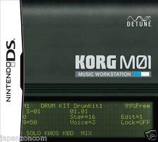 Used DS KORG M01 Music Workstation DETUNE NINTENDO JAPANESE IMPORT
