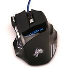 Con filo Mouse Da Giochi 7 Tasti 5500 DPI LED Ottico USB Gioco Del Computer Cavo