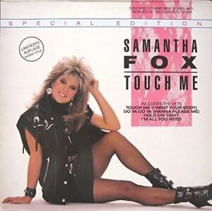 Samantha Fox Touch me (Special Edition, 1986, white vinyl)  [LP]