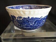 Adams English Scenic blue Sugar bowl