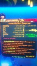 Borderlands 3 - (ps4) Boogeyman (Cor)(S.J Mods)lvl 65(Arms Race)No dlc fix