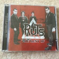 THE RUTS : THE BEST OF CD