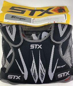 STX Stinger Lacrosse Shoulder Pads Size Medium Girls Or Boys (9-13 Yrs)