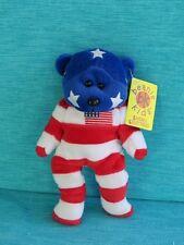 BEANIE KIDS - INDEPENDENCE THE AMERICAN BEAR BK 146 PLUSH SKANSEN GIFT USA MWMT