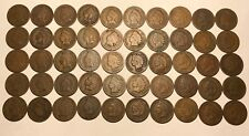 Complete Roll of 50 1888 Indian Head Cents Pennies Solid Good+ FREE SHIPPING!