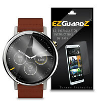 2X EZguardz LCD Screen Protector Cover HD 2X For Motorola Moto 360 2nd Gen 46mm