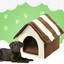 Indoor Cute Dog House Bed Pet Soft Warm Cushion Pad Washable Cat Cozy Home NEW