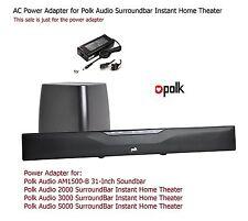 AC Power Adapter for Polk Surroundbar Instant Home Theater Sound Bar