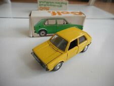 Schuco VW Volkswagen Golf 1 in Yellow on 1:43 in Box
