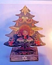 JOYCE HOWARD STANDING CHRISTMAS TREE ANGEL PRIMITIVE  PAINTING PATTERN