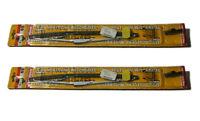2 SWF Wischerblätter 280mm Scheibenwischer SILBERN Oldtimer Youngtimer