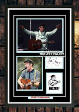 More details for (#429)  gerry cinnamon signed photograph framed/unframed (reprint)  great gift *