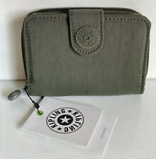 NEW! KIPLING NEW MONEY JADED GREEN WALLET PURSE SALE