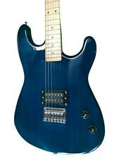 Blue Full Size Electric Guitar With Humbucker Pickup 2nd Used Jameson Demo